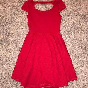 XS red dress